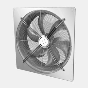 External rotor motor axial fans for A/C, refrigeration and compressed-air machineries AKSE/AKSD