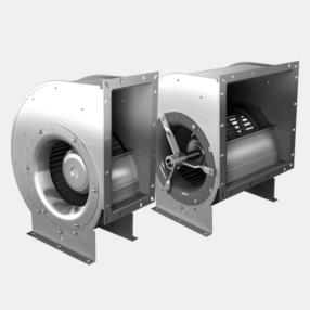 Direct-driven single and double suction centrifugal fans with forward-curved impellers Type: E/DRA...